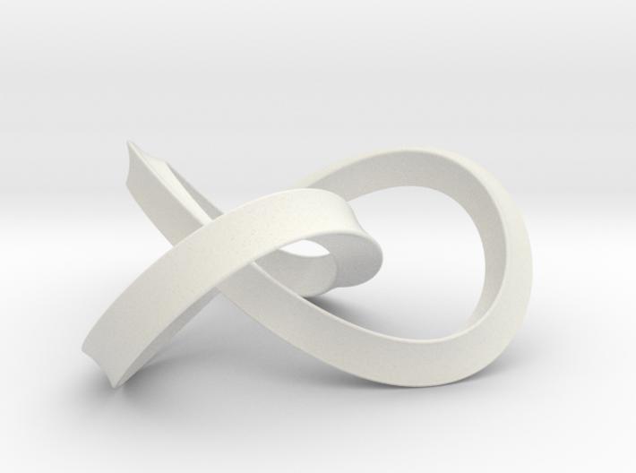 umbilic trefoil 2 3d printed