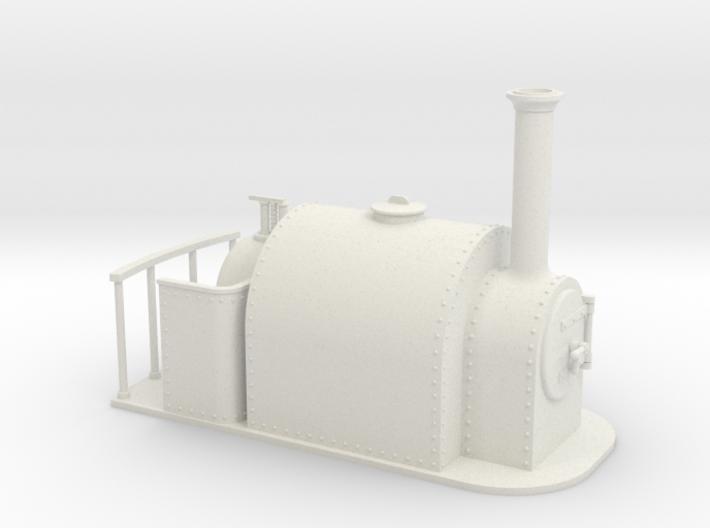 1:32 15 inch gauge large saddle tank 3d printed
