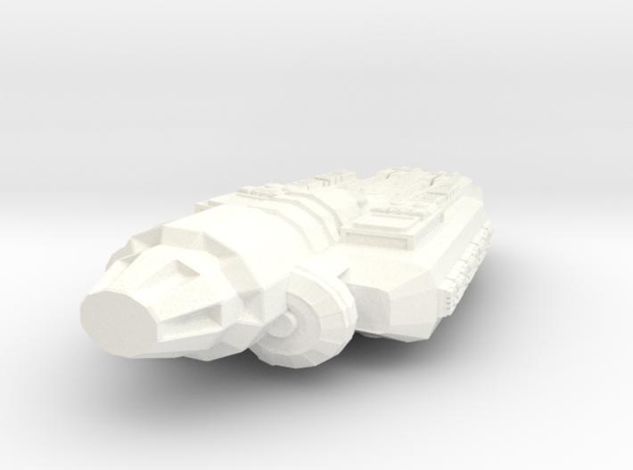 Alien Frigate Omega Quadrant 3d printed