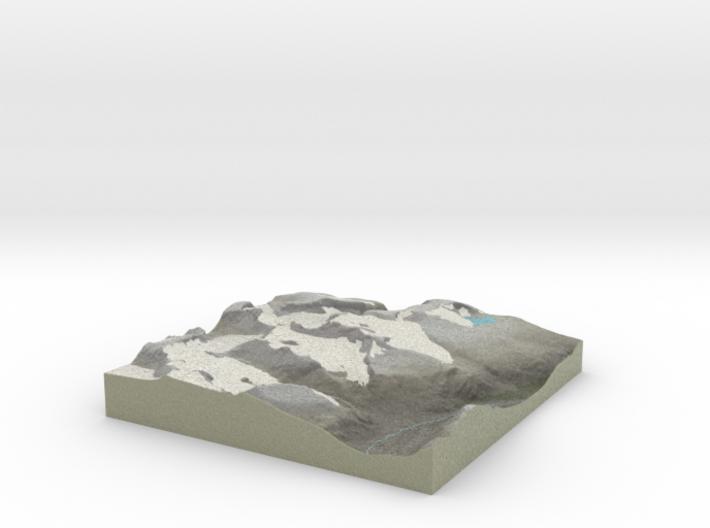 Terrafab generated model Mon Dec 09 2013 12:03:14 3d printed