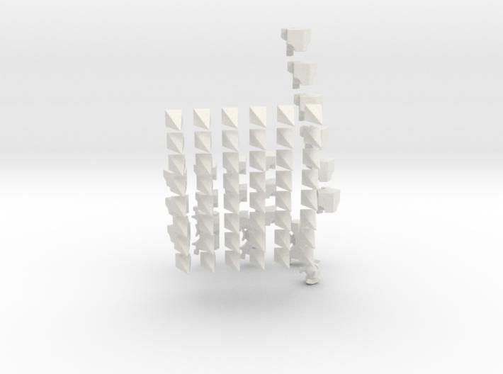 Shrapnel Prism 3d printed