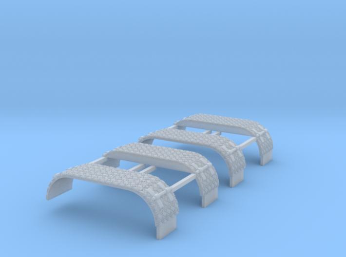 Kotflügel-doppel Mit Krähenfußblech -WLF 2x 3d printed