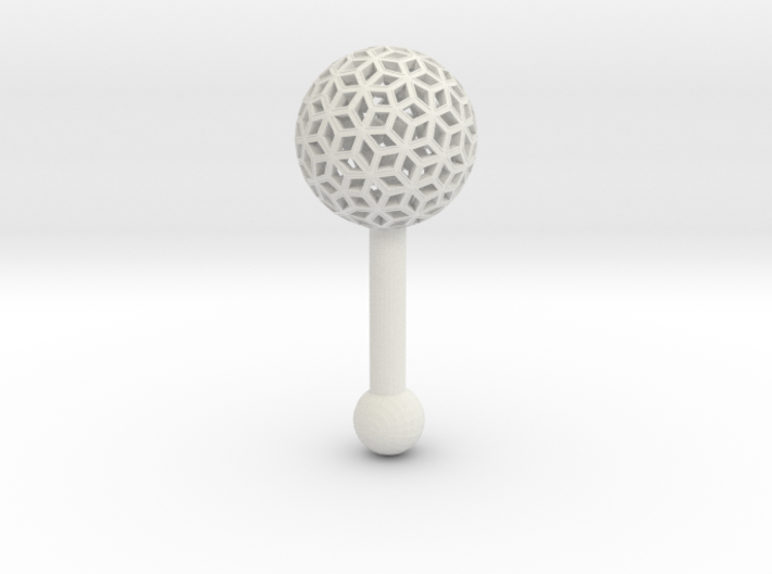 Baby Rattle 3d printed