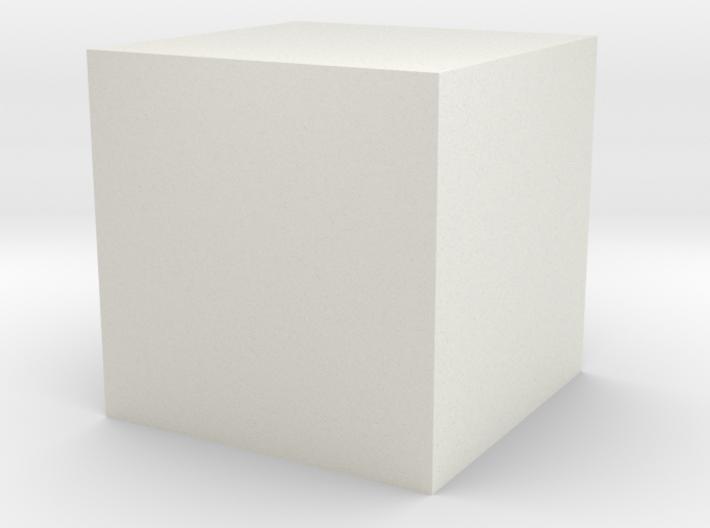 test cube 3d printed