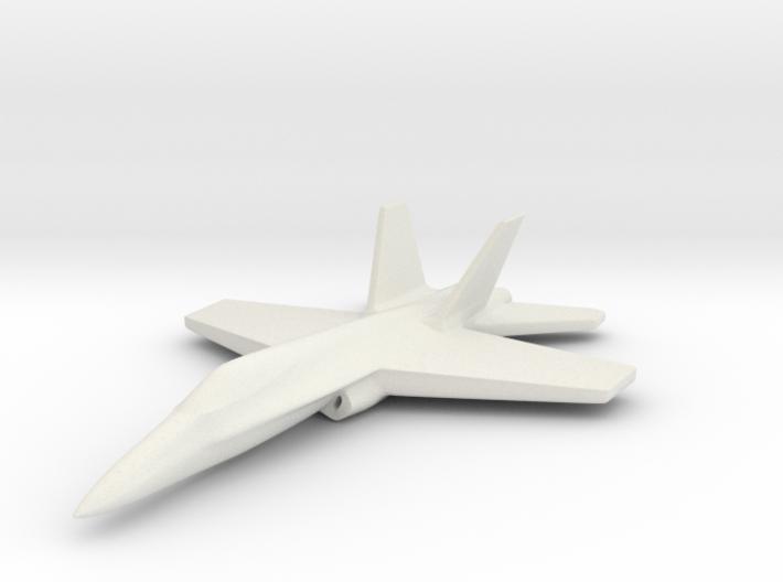 1/285 (6mm) F-18C Hornet 3d printed