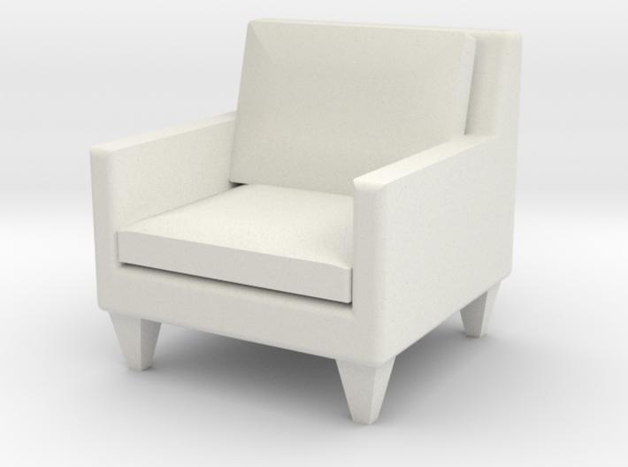 1:24 Contemporary Club Chair 3d printed