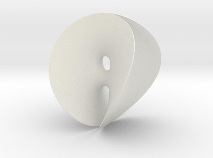 Chen-Gackstatter Minimal Surface 3d printed