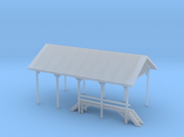 Railroad Repair Shelter 3d printed