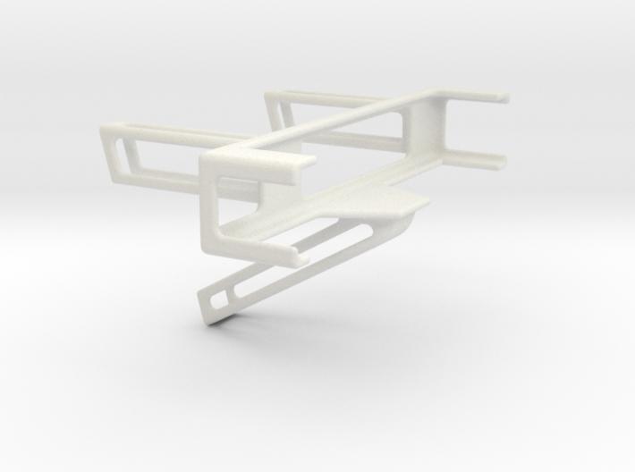Angled Desk Phone Holder 3d printed