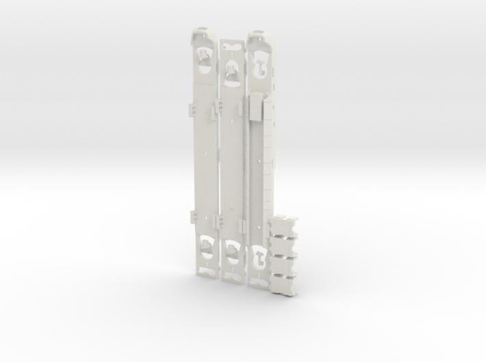 Plan U Bodems N scale (1:160) 3d printed
