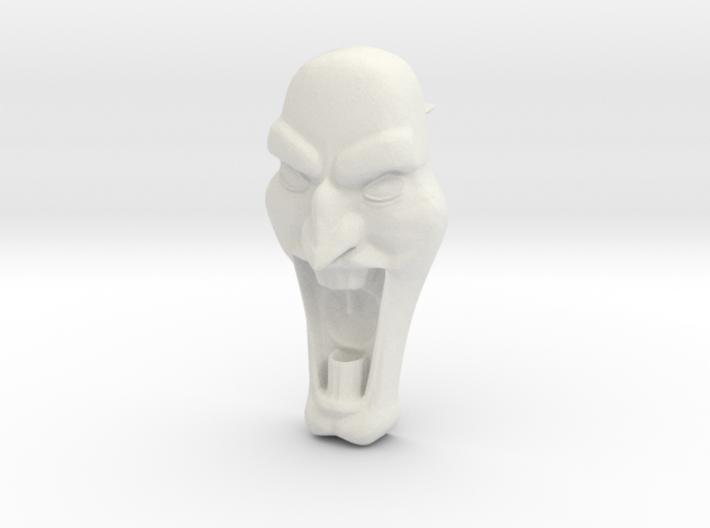 Mad Face - Push Pin -v1b 3d printed