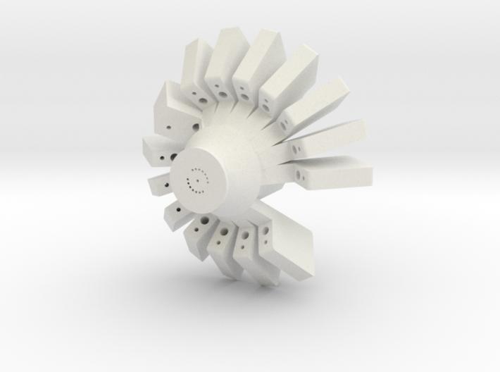 Fiber microdrive 3d printed