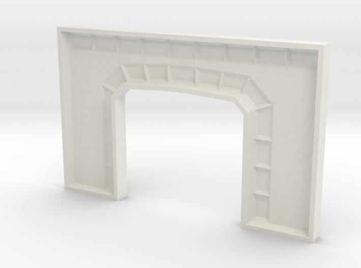 Z TUNNEL PORTAL MOLD 3d printed
