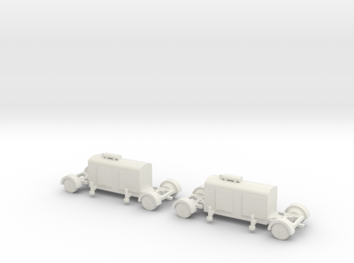 1/144 German Generator trailer 3d printed