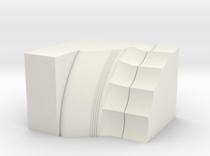 Parthenon Column Capital Slice (Hollow) 1:50 3d printed