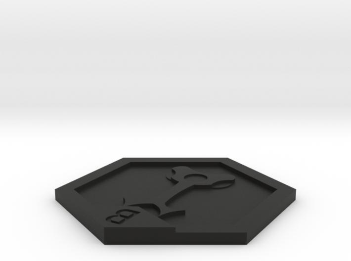 Medabots Kabuto Medal 3d printed