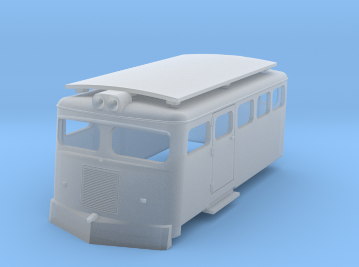 Draisine Chile H0 scale 3d printed