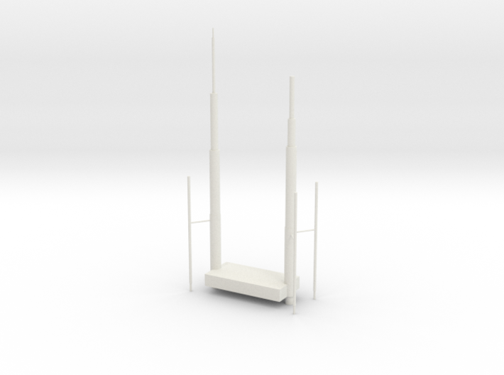 Willis Tower Antennae 3d printed