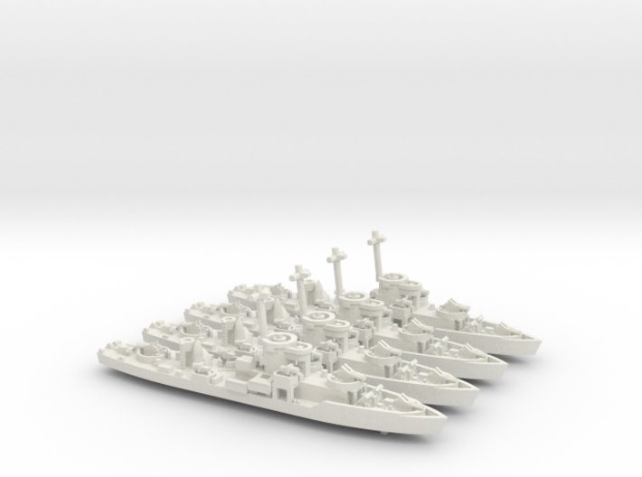 LCS(L)3 4 Off 1/700 Scale 3d printed