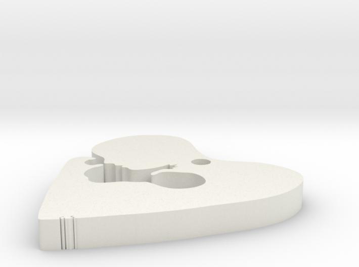 Open Heart 3d printed