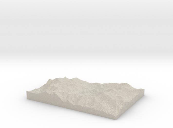 Model of Brighton 3d printed
