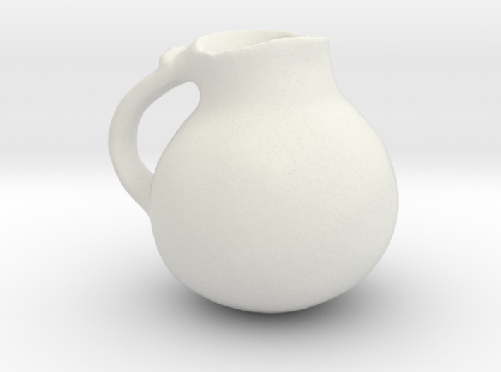Roman Clay Water Vessel Smooth 3d printed