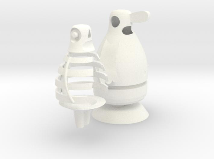 Skin and Bones 3d printed