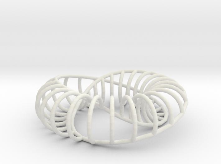 Moebius Arc   Napkin Ring 3d printed