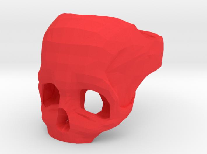 Skull Ring US 9 3d printed