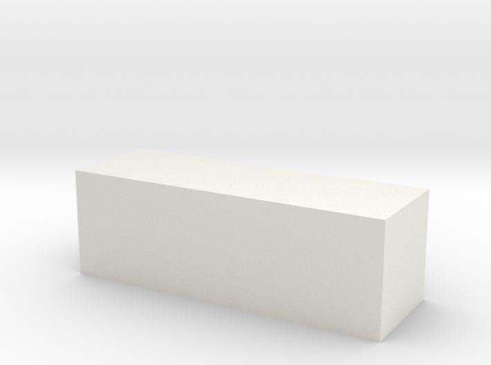 Block 2x2x6 3d printed