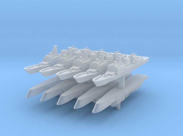 KDX-II 1:6000 x10 3d printed