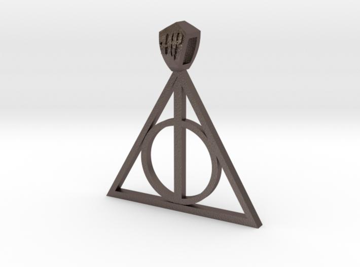 Harry Potter Pendant (metal) 3d printed