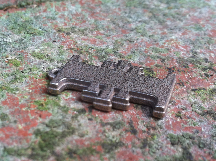 Warhammer 40K Inquisitorial Pendant 3d printed Stainless steel