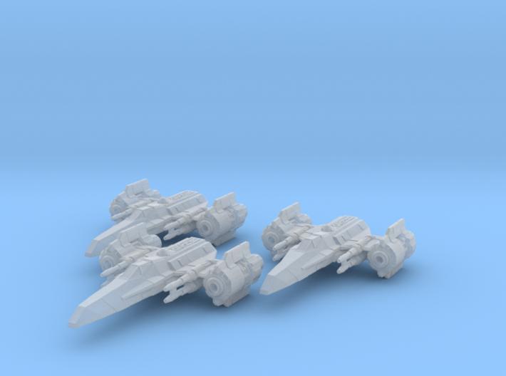 EU Corvan T-4 wing 3d printed
