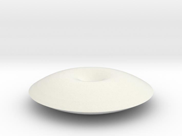 Unduliod disk 3d printed