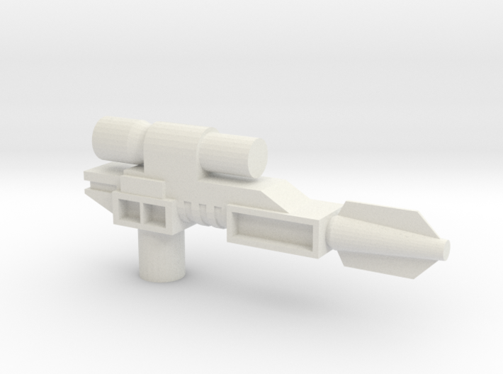 Classics pistol model one- flared 3d printed