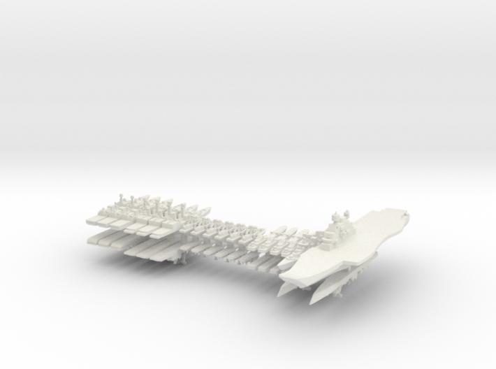 INS Fleet 1:3000 (36 ships) 3d printed