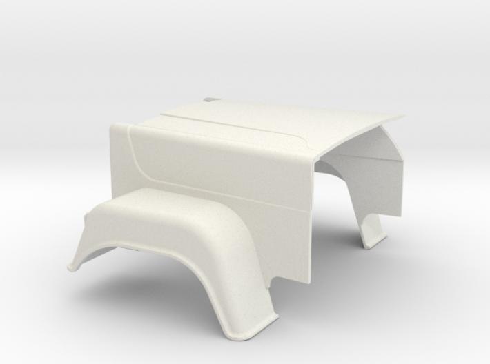 MACK-hood Superliner 3d printed