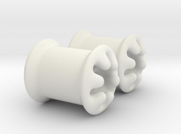 0g plugs 3d printed
