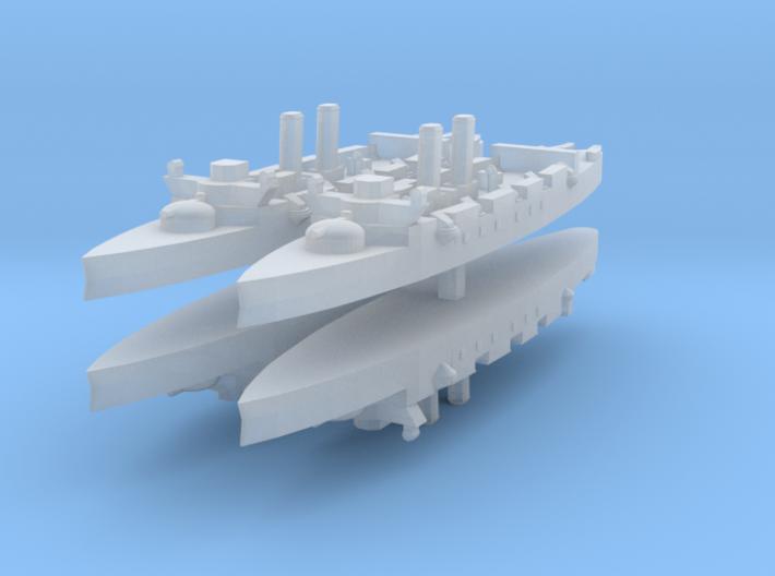Infanta Maria Teresa class (Vizcaya) 1:3000 x4 3d printed