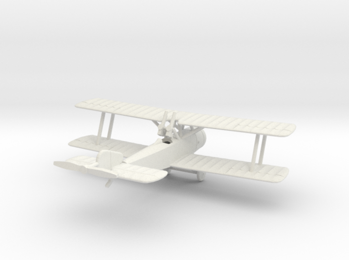 1/144 Sopwith 1 1/2 Strutter Comic 3d printed