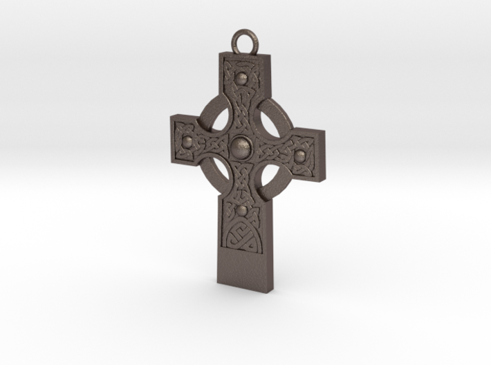 celtic cross 2 3d printed