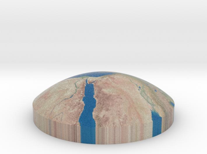 Omni globe mediterranean sea 3d printed