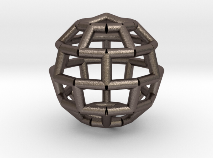 Brick Sphere 3 3d printed