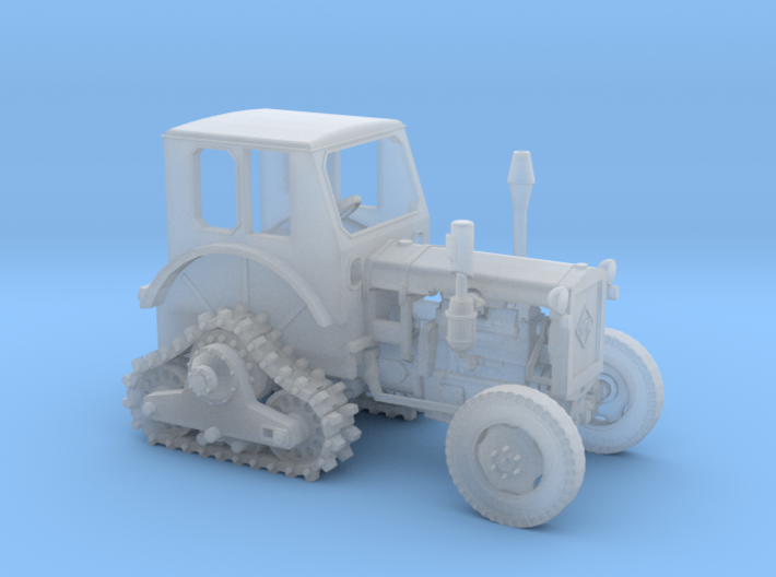 "Schlepper RS01 ""Pionier"" mit Halbraupe (M 1:120) 3d printed"