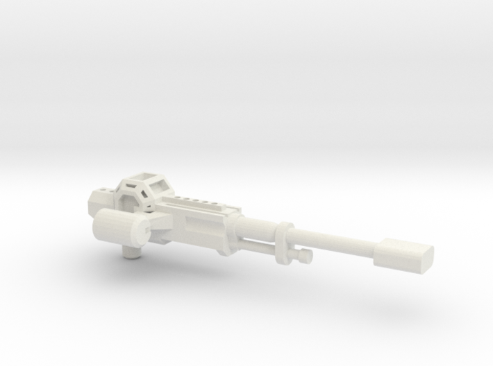 Hiss Auto Cannon 2 (fixed) 3d printed