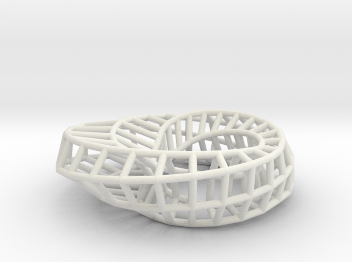 ring elliptical inside out 0.6285dia 3d printed
