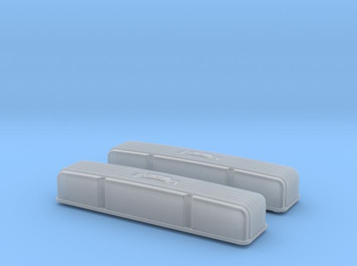 1/16 SBC Edelbrock Valve Covers 3d printed