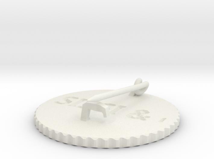 by kelecrea, engraved: SISSI & ocean 3d printed