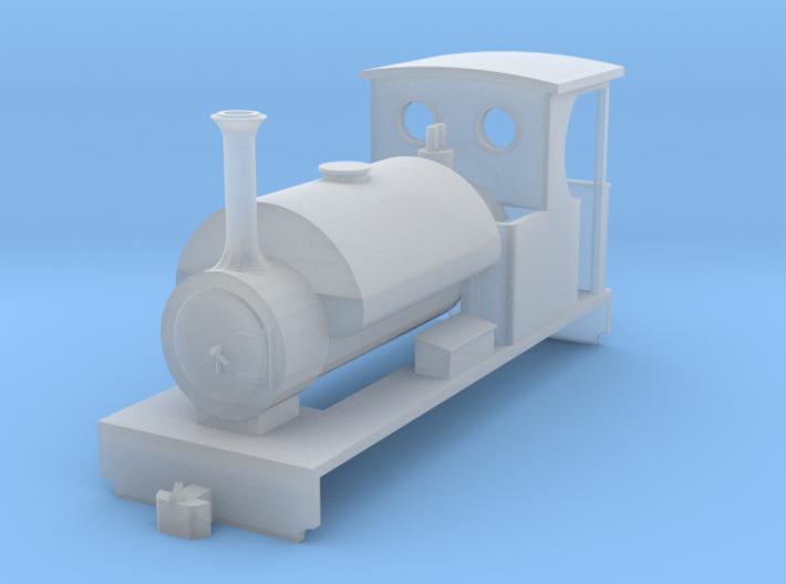"""SK03 - """"Mongrel"""" OO9 Steam Locomotive 3d printed"""